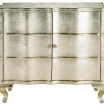 Silverleaf & Mirrored Bar Cabinets