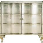 Silverleaf & Mirrored Bar Cabinets