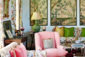 Chinoiserie Wall Panels