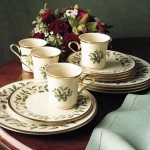 Tabletop: Holiday China – Pick Your Pattern