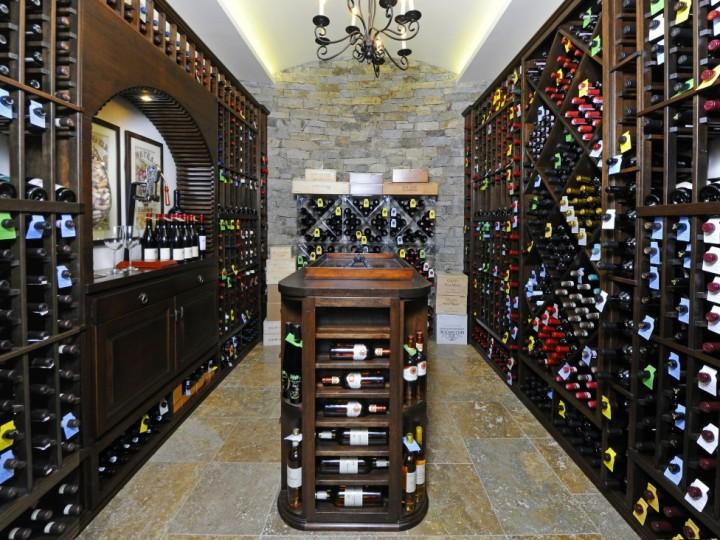 68 Birch Lane Greenwich Real Estate Sothebys Edward Mortimer - wine cellar