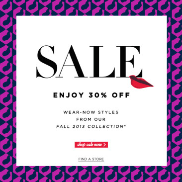 Black Friday, Cyber Monday Holiday Shopping Coupons: Ann Taylor, DVF, Banana Republic, Serena & Lily, Ralph Lauren, Brooks Brothers, Alice and Olivia, Anthropologie and More!