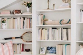 Fun Decorative Statues From Bungalow 5: Style Your Bookcase!