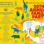 Family Party at American Museum of Natural History!  Wednesday Night October 23, 2013!  Buy Tickets!