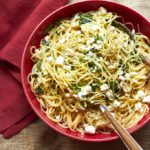 COOKING ON DEADLINE: Linguine with Lemon, Feta and Basil