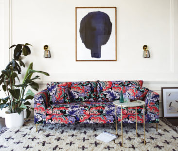 The Moody Blooms: Dark florals move from runway to rooms