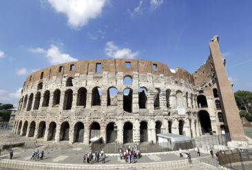 Rome with a view: Colosseum opens its top levels to public