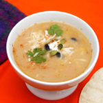 This Ten-Minute Tortilla Soup is filling comfort food – fast