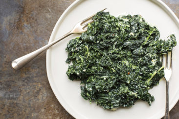 COOKING ON DEADLINE: Creamed Kale with Parmesan