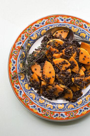 COOKING ON DEADLINE: Black Lentil and Butternut Squash