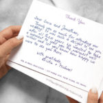 Wedding thank-you notes are hard. Here's how to get 'em done