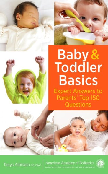 Solid food to car seats: Book covers common baby questions