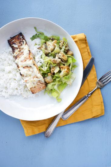COOKING ON DEADLINE: Citrus-Marinated Salmon