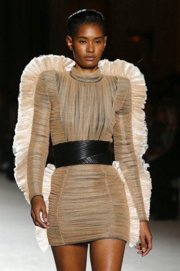 Balmain goes disco as Issey Miyake wraps up at Paris shows