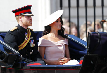Harry and Meghan turn out for Trooping the Color spectacle