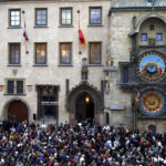 Medieval clock is back to counting off the hours in Prague