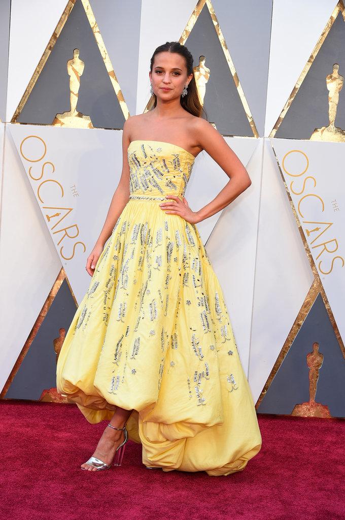 Alicia Vikander Louis Vuitton Oscars 2016