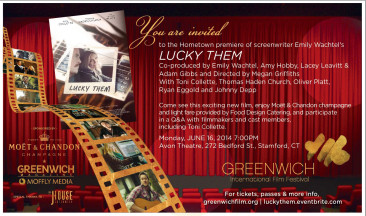 Giveaway Announcement!  Two Tickets to Greenwich International Film Festival Screening of Lucky Them Monday June 16th