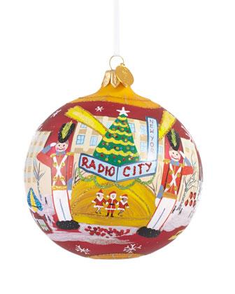 Radio City Music Hall Christmas Ornament