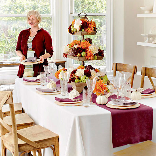 Hgtv Thanksgiving Decorations: Thanksgiving Centerpiece Ideas: Setting The Holiday Table