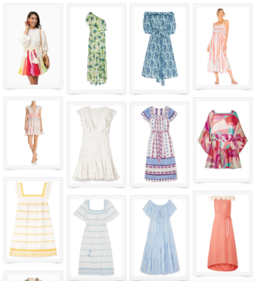 Beachy Vacation Dresses & Accessories for 2019