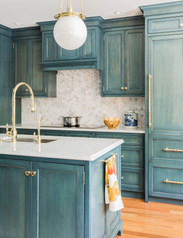 Painted Cabinetry: Colors on Kitchen, Pantry and Bathroom Cabinets!