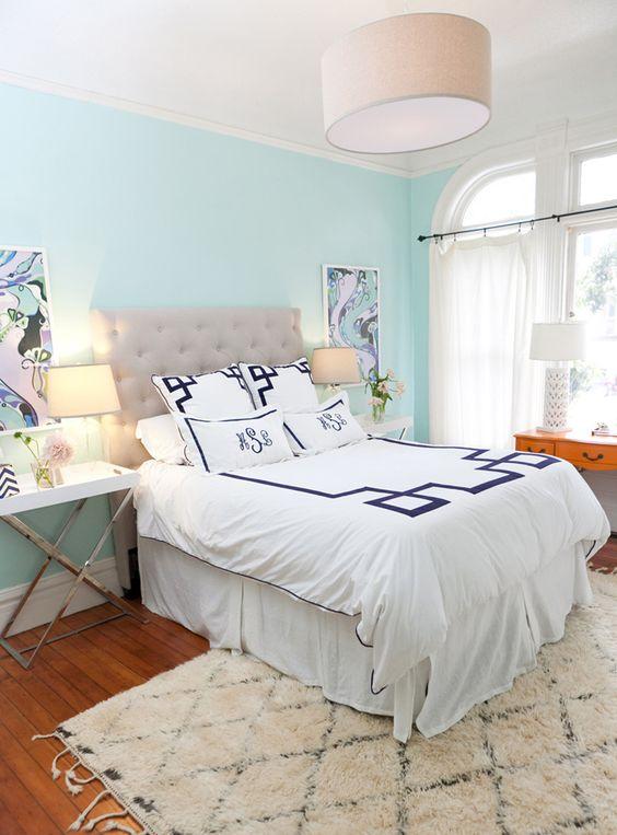 Farrow And Ball Inchyra Blue Living Room