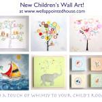 New Children's Wall Art & Sale!