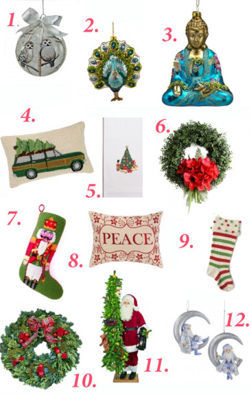 Christmas Decor to Love! Ornaments, Wreaths, Christmas Card Storage and more!
