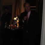 Book Party Celebrating Duff McDonald's Book on Jamie Dimon Held at Canadian Consulate on Park Avenue in Manhattan