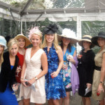 """British Inspiration at this year's Central Park Conservancy's """"Hat Party"""" Luncheon: Fascinators Abound!"""