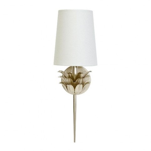 Delilah Wall Sconce Silver