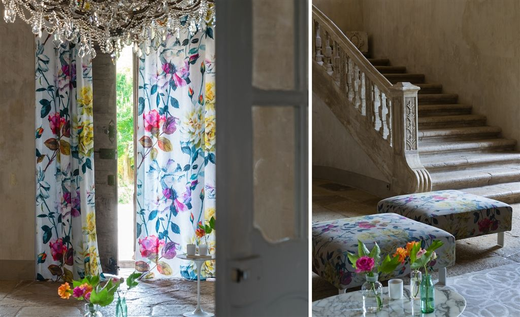 Fabulous New Ss16 Fabric Wallpaper Collections By
