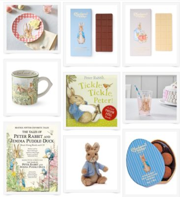 Our Favorite Easter Gifts – Beatrix Potter's Peter Rabbit & Colorful Chocolate Filled Gift Baskets