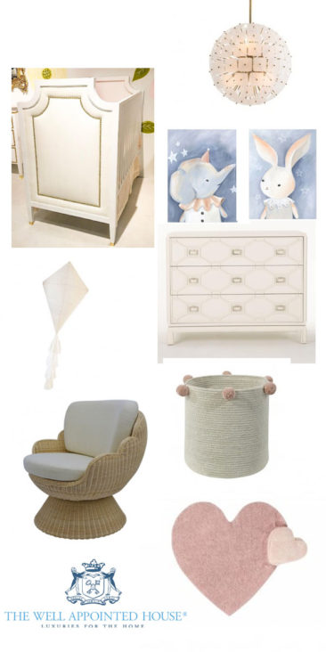 Elephant and Bunny Baby Nursery Design
