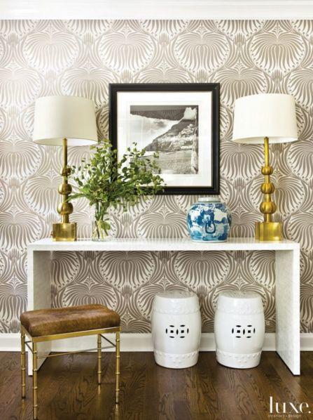 Farrow Ball Lotus Wallpaper