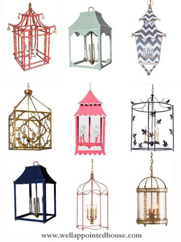 Favorite Chandeliers: Lanterns