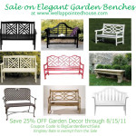 Sale on Garden Decor! Save 25%!
