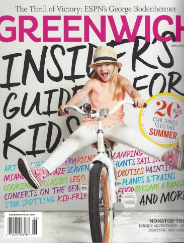Seen and Heard: See Us in Greenwich Magazine's June 2015 Issue and The Sentamentalist Blog!