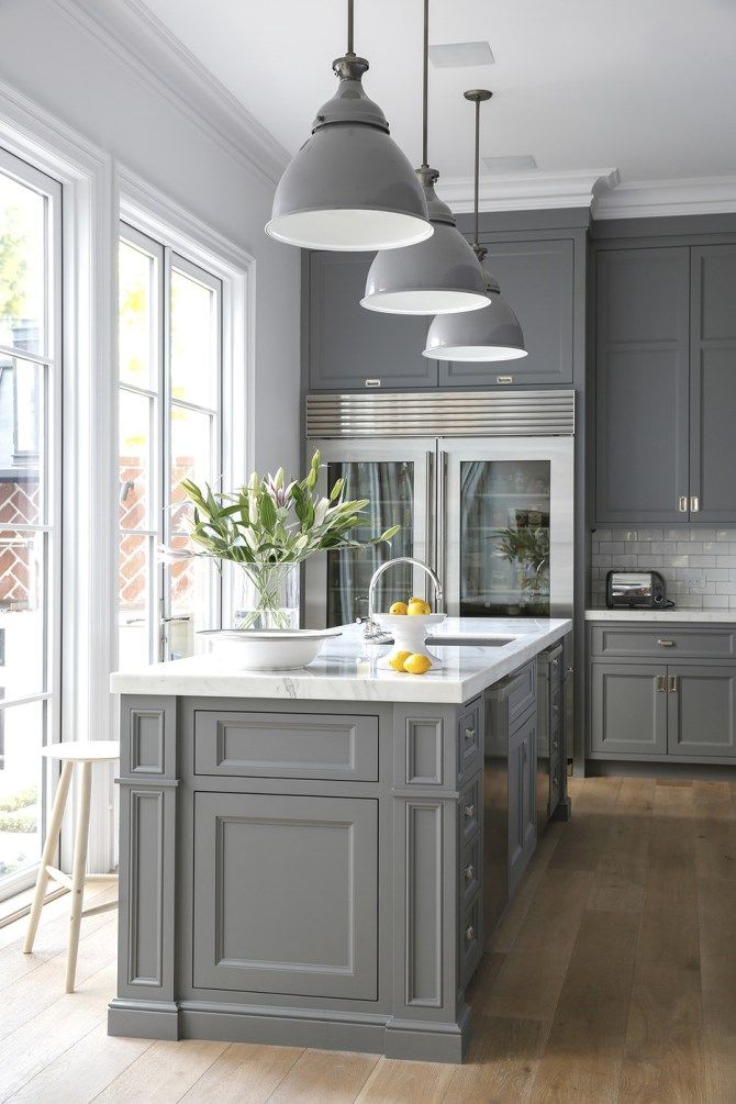 Home Decor Trend Gray In The Kitchen And Bathroom