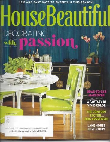 Recent Press: House Beautiful and Greenwich Magazine