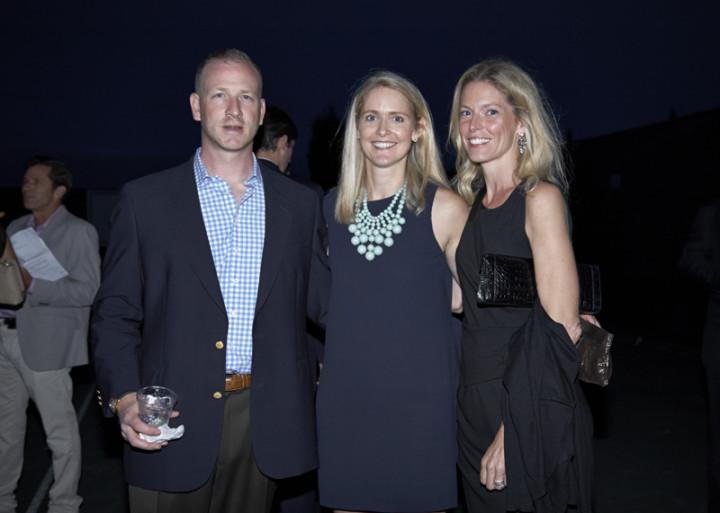 My friends Andy Stern, Ashley Graham and Erin Stern. Photo by Elaine Ubina.