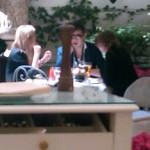Kate Moss at the Ritz Paris Today