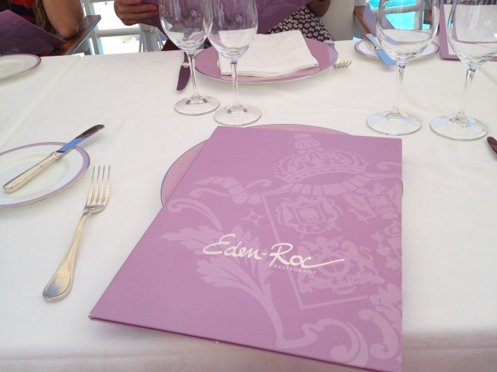 Lunch at Eden Roc