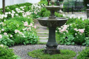 Garden Inspiration: Install An Outdoor Fountain!