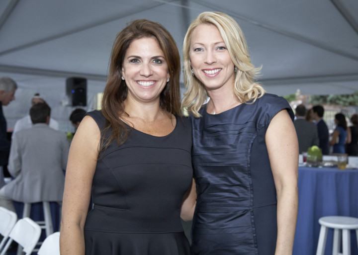 Marjorie Pastel and Melissa Hawks.  Photo by Elaine Ubina.