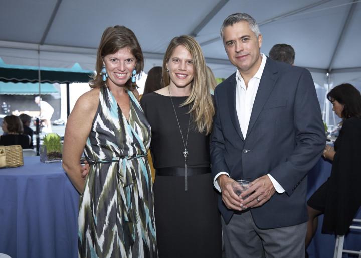 Colleen Campo, Lauren Cranston and Patrick Campo.  Photo by Elaine Ubina.
