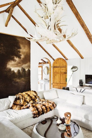 Chic Decor for the Ski Chalet