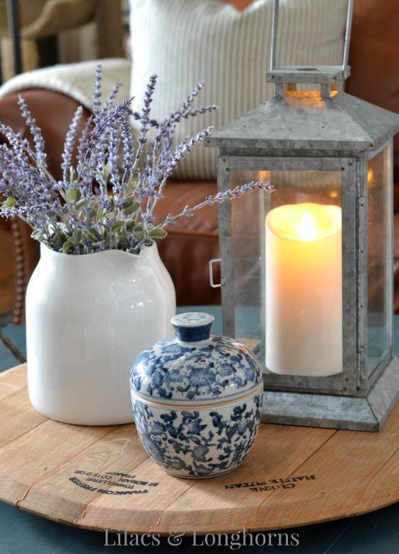 Lilacs-Longhorns-Coffee-table-decor