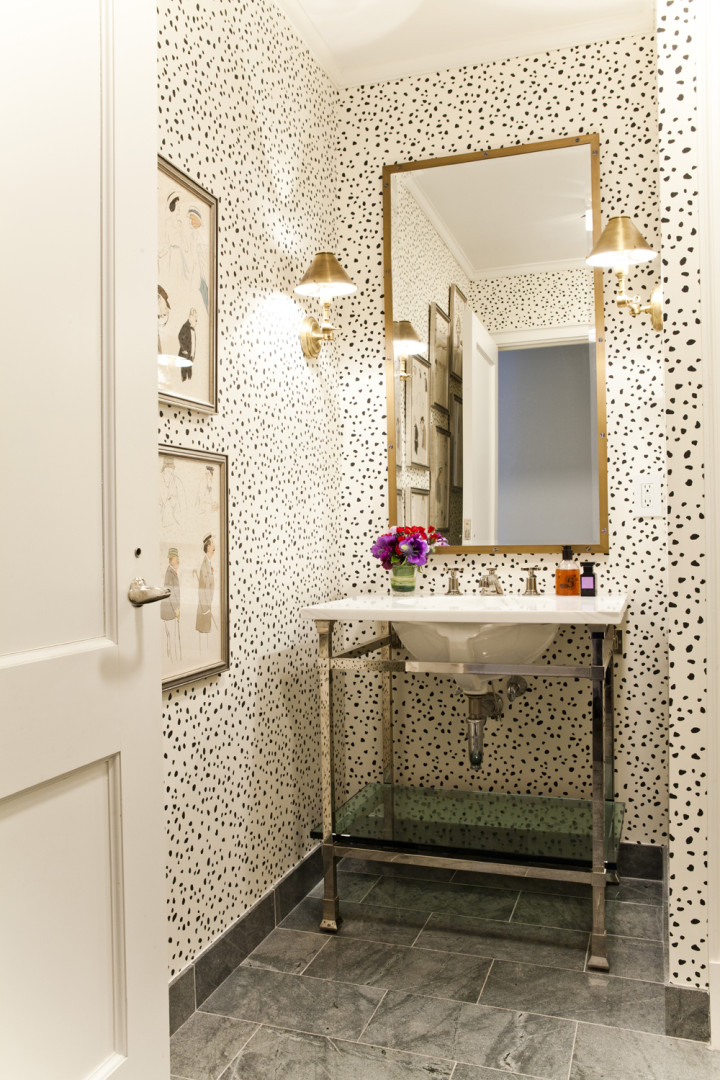 Lilly-Bunn-Downtown-Traditional-Powder-Room-Dots